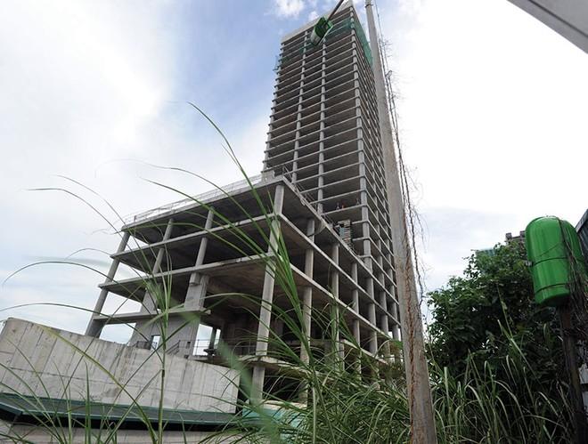 Cận cảnh dự án bỏ hoang Vicem Tower