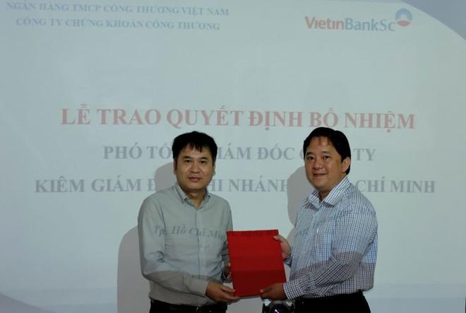 Cựu phó tổng VIX làm phó tổng VietinBankSc