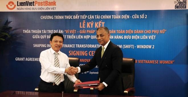 LienVietPostBank: Tăng cơ hội tiếp cận dịch vụ tài chính - ngân hàng cho phụ nữ Việt Nam
