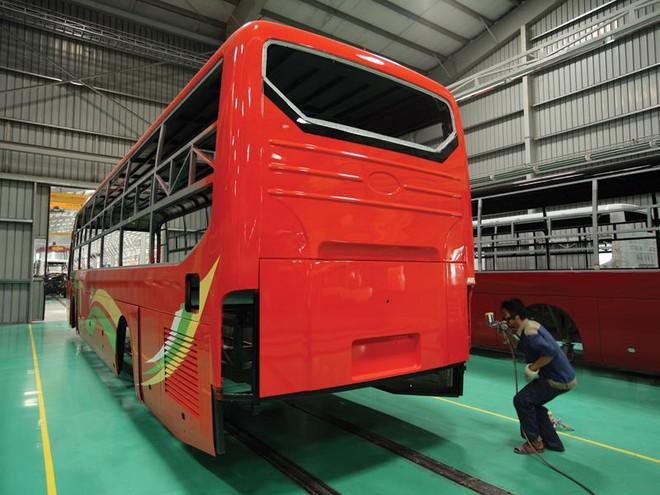 Trường Hải đầu tư lớn vào dự án xe bus