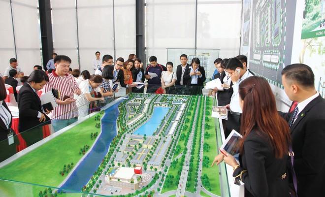 Sức nóng của thị trường đất nền tiếp tục tăng