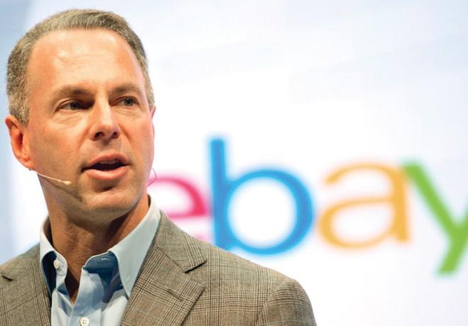 """CEO eBay lên kế hoạch """"thách đấu"""" với Amazon"""