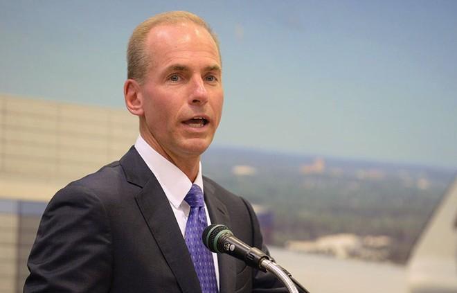 Khát vọng chinh phục sao Hỏa của CEO Boeing