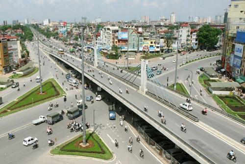 Hà Nội xây đường bộ trên cao từ cầu Vĩnh Tuy đến Ngã Tư Sở