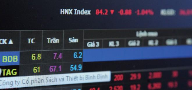 """Hàng trăm cổ phiếu """"ngủ đông"""" trên thị trường chứng khoán"""