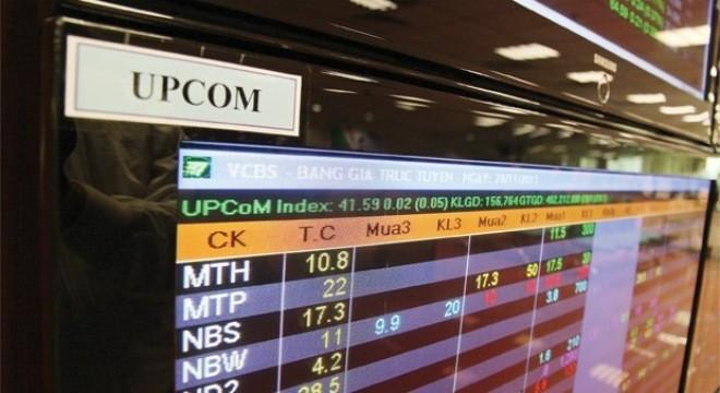 UPCoM: kỳ vọng ngày trở về mốc 100 điểm