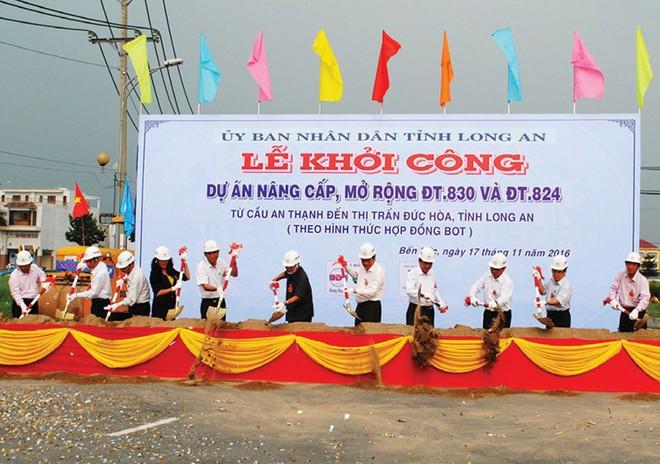 BCG và Băng Dương khởi công dự án mở rộng đường tại Long An