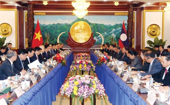 Làm sâu sắc hơn quan hệ Việt - Lào