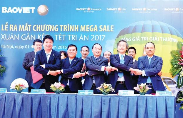 """Ra mắt Bảo Việt Mega Sale """"Xuân gắn kết - Tết tri ân"""