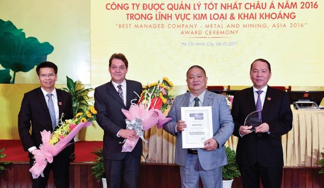 HSG nhận giải thưởng Công ty quản lý tốt nhất châu Á