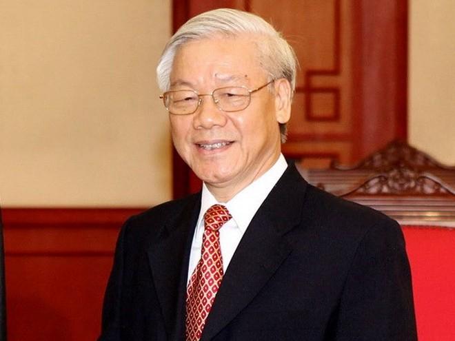 Tổng Bí thư Nguyễn Phú Trọng thăm chính thức Trung Quốc từ ngày 12/1