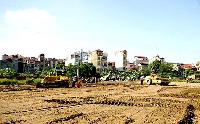 Hà Nội ủy quyền cho quận, huyện xây dựng kế hoạch, thông báo thu hồi đất