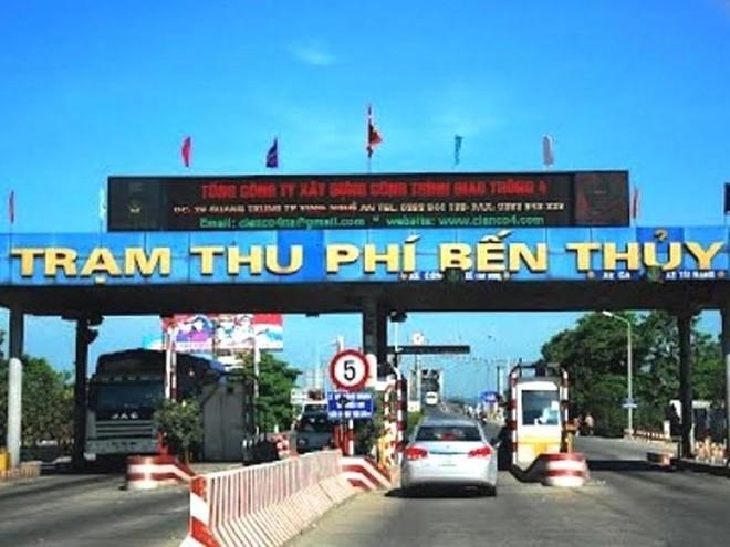 Chính thức miễn phí qua trạm Bến Thủy 1 với cư dân địa phương