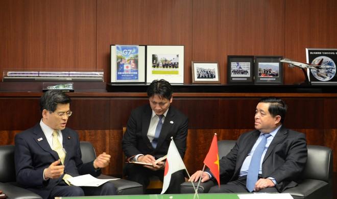 Bộ trưởng Bộ Kế hoạch Đầu tư thăm và làm việc tại Nhật Bản: Quan hệ Việt Nam - Nhật Bản đem lại hiệu quả thiết thực