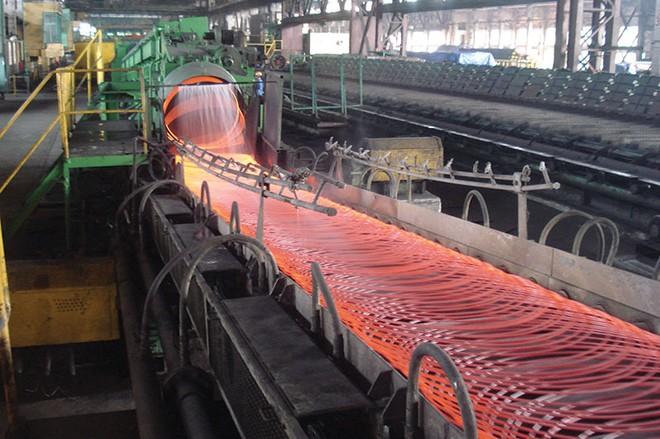 """Bức tranh ngành thép giảm bớt """"màu hồng"""""""