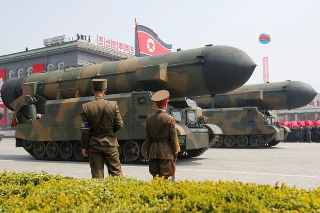 Mỹ, Hàn: Tên lửa Triều Tiên 'nổ ngay lập tức' khi phóng thử