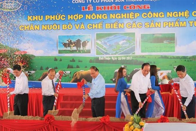 Thủ tướng phát lệnh khởi công khu phức hợp nông nghiệp công nghệ cao 3.000 tỷ đồng