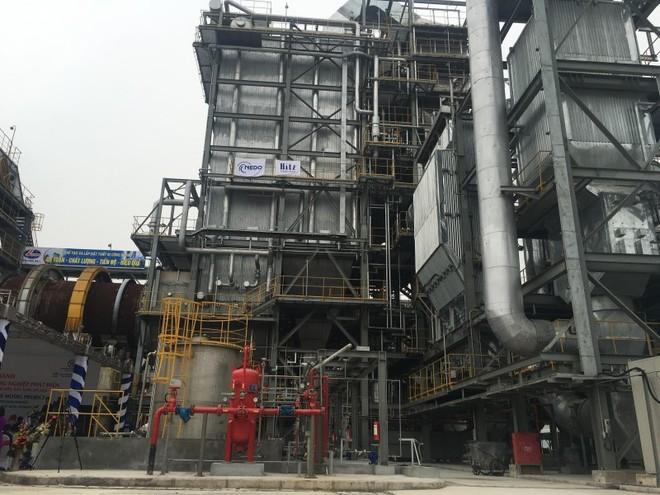 Khánh thành Nhà máy xử lý chất thải công nghiệp phát điện vốn 645 tỷ đồng tại Sóc Sơn