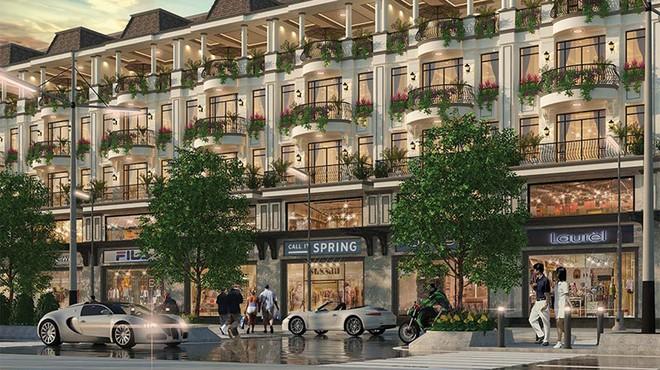Ấn tượng hình mẫu nhà phố thương mại mặt tiền 7 m