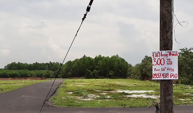 Thận trọng khi mua đất nền quanh sân bay Long Thành