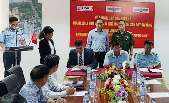 Bàn giao thêm 12,7 ha mở rộng sân bay quốc tế Đà Nẵng