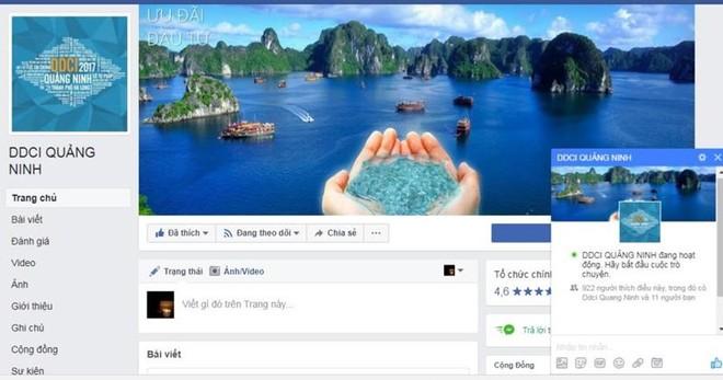 Quảng Ninh sử dụng mạng xã hội để kết nối với doanh nghiệp
