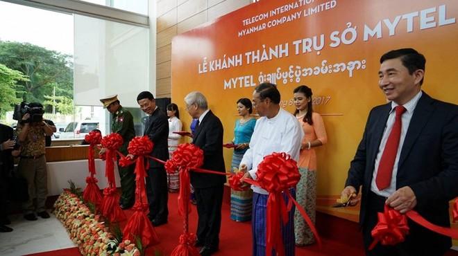 Tổng Bí thư Nguyễn Phú Trọng: Tại Myanmar, Viettel tiếp tục là cầu nối tình hữu nghị và hợp tác giữa hai nước