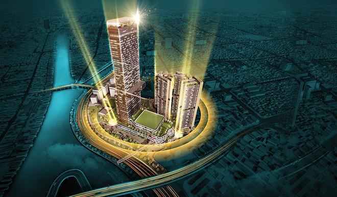 Tiêu điểm thị trường bất động sản tháng 8 Khởi công thành phố 5 sao Dragon Riverside City