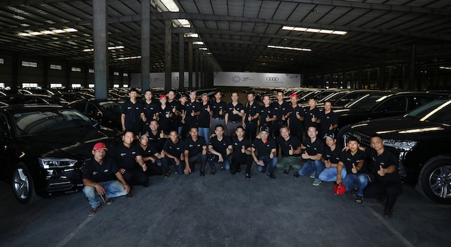 258 xe Audi mới được bàn giao phục vụ APEC 2017 tại Đà Nẵng