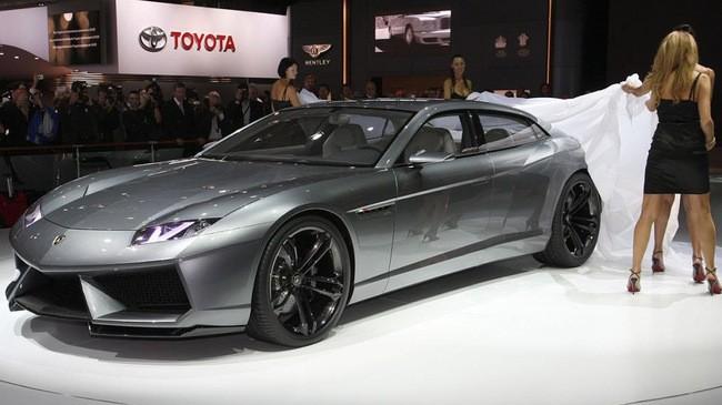 Sau siêu SUV Urus, Lamborghini sẽ ra mắt siêu sedan 4 cửa hoàn toàn mới