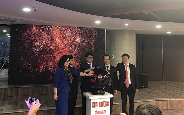 Hà Nội chính thức ra mắt cổng thông tin khởi nghiệp StartupCity.vn