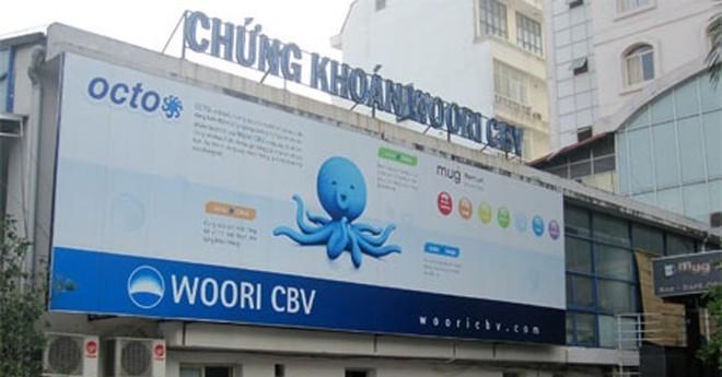 Chứng khoán Woori CBV bị xử phạt