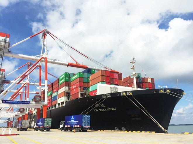 Cho phép Cảng container quốc tế Sài Gòn - SSA đón siêu tàu 160.000 DWT