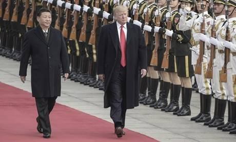Trung Quốc chào đón Tổng thống Trump với nhiều nghi thức 'hiếm có'