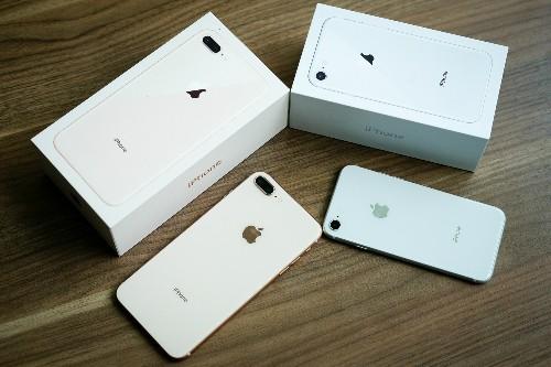 iPhone 8 xách tay giảm giá, thấp ngang ở Mỹ