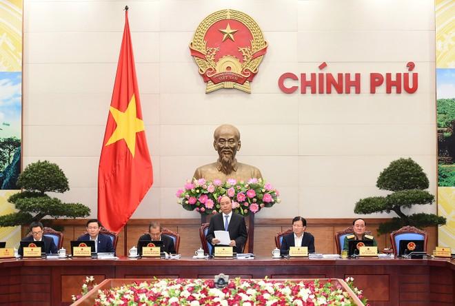 Nghị quyết phiên họp Chính phủ thường kỳ tháng 10/2017
