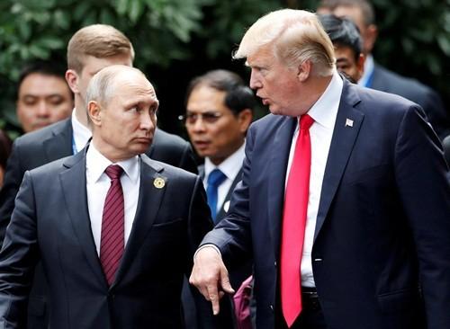 Trump, Putin gặp bên lề APEC tại Đà Nẵng, cam kết đánh bại IS