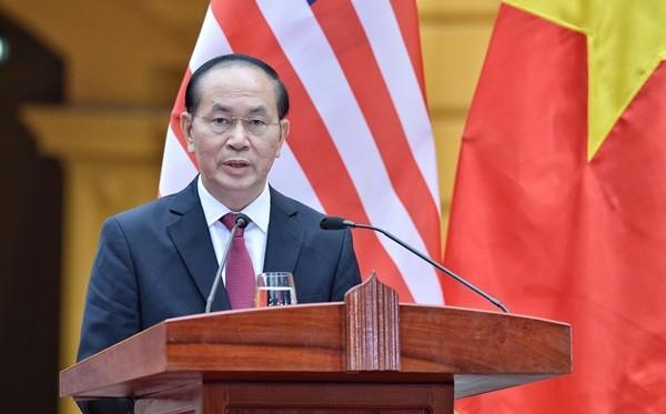 Tổng thống Mỹ: Việt - Mỹ gắn kết vì 'mục đích chung, lợi ích chung'