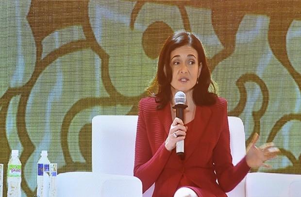 Sheryl Sandberg: Phụ nữ khởi nghiệp sẽ làm được những điều to lớn