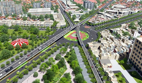 Thông xe thêm nhánh cầu vượt giảm ùn tắc cho Tân Sơn Nhất