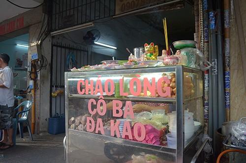 Cháo lòng cô Ba 'đắt xắt ra miếng' gần nửa thế kỷ ở Sài Gòn
