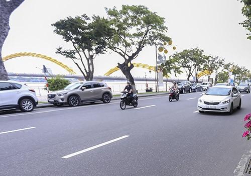 Đà Nẵng thu phí đậu xe hai tuyến đường trung tâm