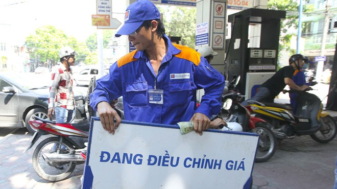 Giá xăng tăng lên 19.230 đồng/lít từ 21h ngày 5/5