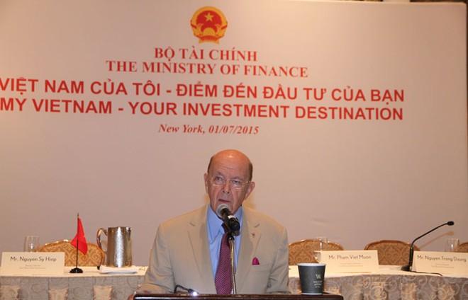 Tỷ phú Wilbur L. Ross: Đừng bỏ lỡ cơ hội thú vị tại Việt Nam