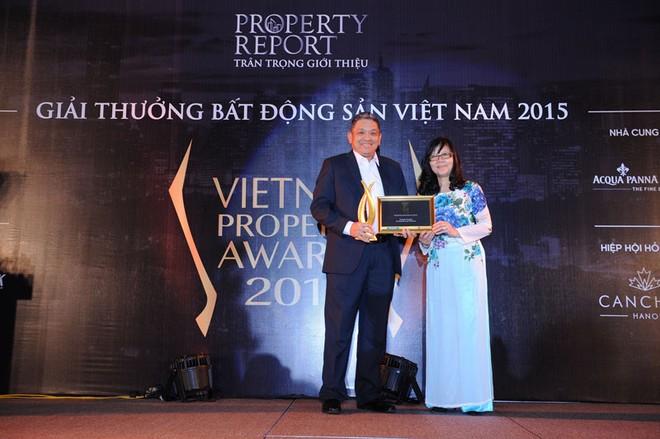 Gamuda Gardens nhận Giải Vietnam Property Awards 2015