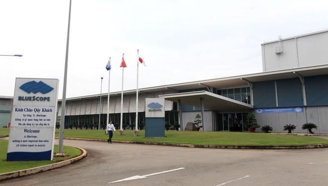 BlueScope đầu tư nhà máy 105 triệu USD tại Khu công nghiệp Phú Mỹ 1
