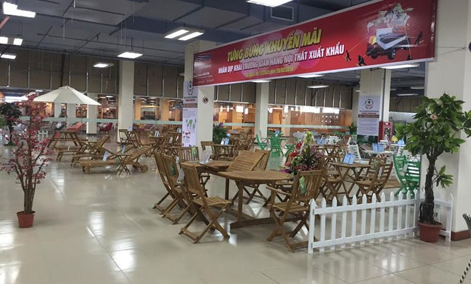 Khai trương Showroom đồ gỗ Forexco Quảng Nam tại Melinh PLAZA