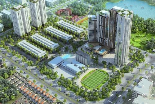 """Dự án Mon City: Nhà phố """"vàng"""" trong lòng đô thị"""