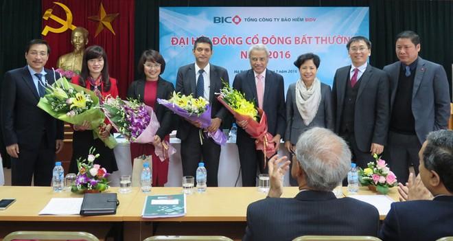 BIC: bổ sung 2 thành viên HĐQT đến từ FairFax