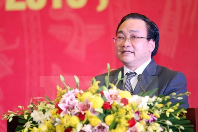 Ông Hoàng Trung Hải giữ chức Bí thư Thành ủy Hà Nội